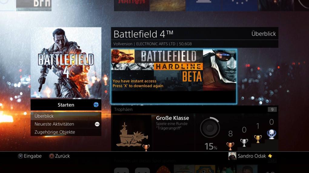 Battlefield Hardline Beta: PSN offline, Origin und EA Server