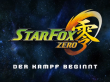 Star Fox Zero: Der Kampf beginnt - Animationsfilm am 21. April im Live-Stream