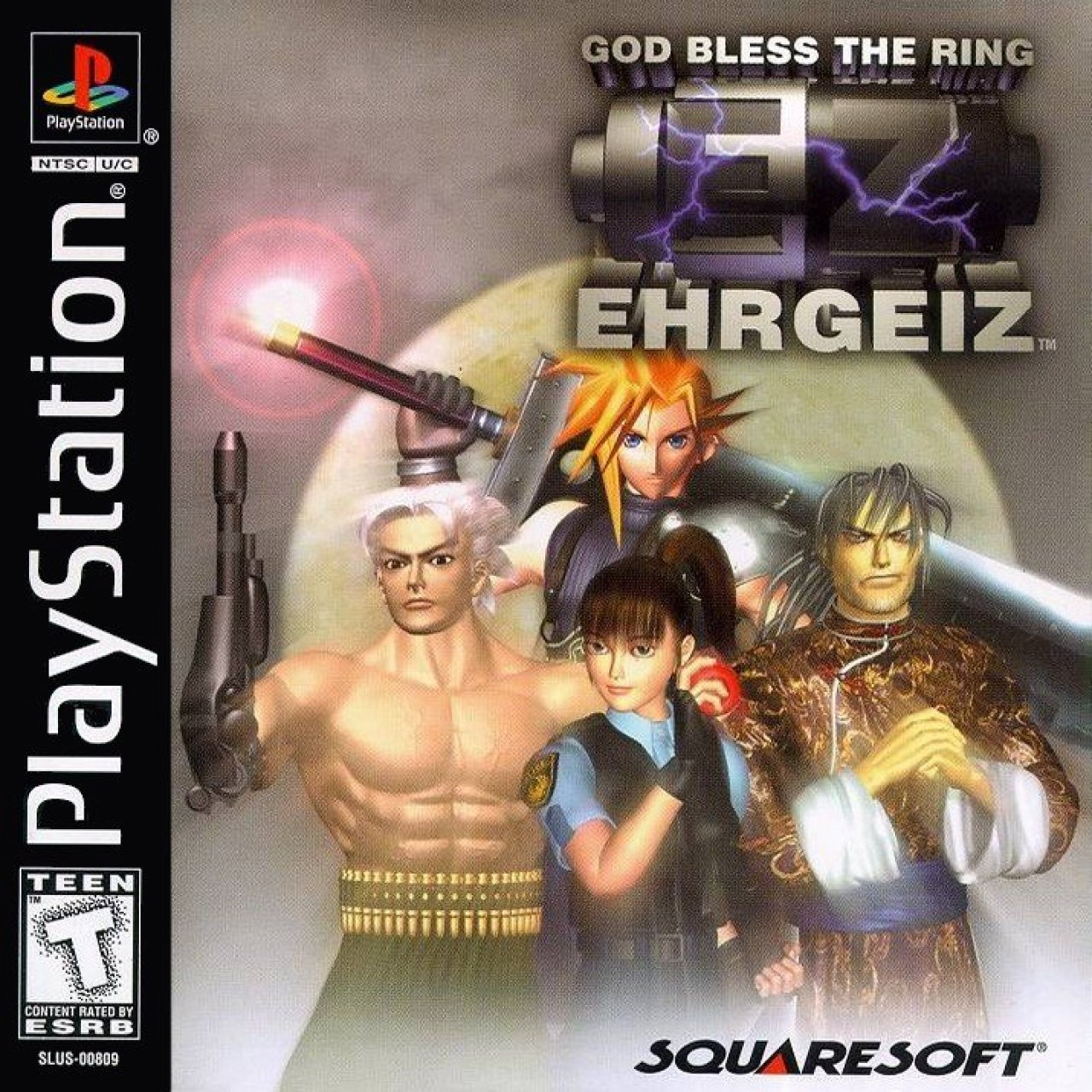 Ehrgeiz God bless the Ring   Leser Test von Redzora
