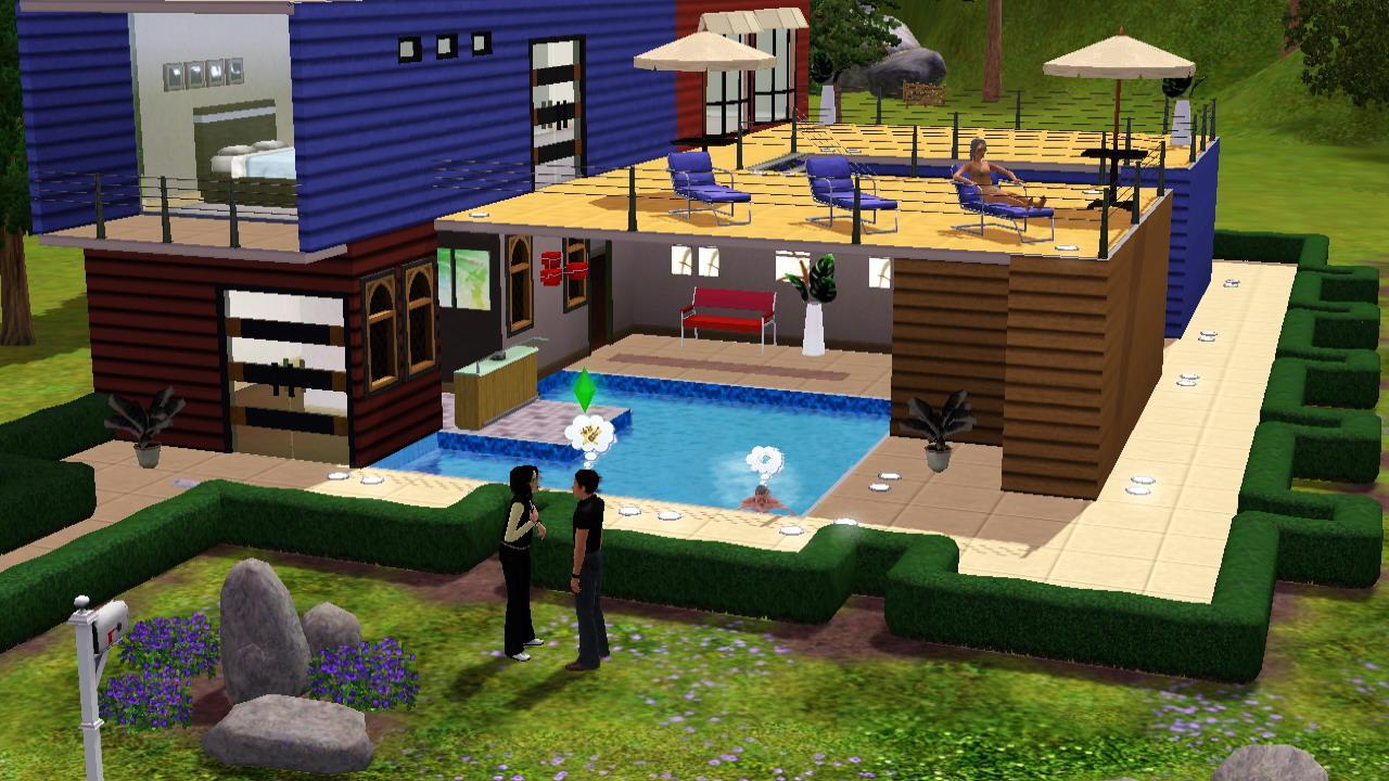 Die sims 3 im gamezone test for Construire une maison sims 3 xbox 360