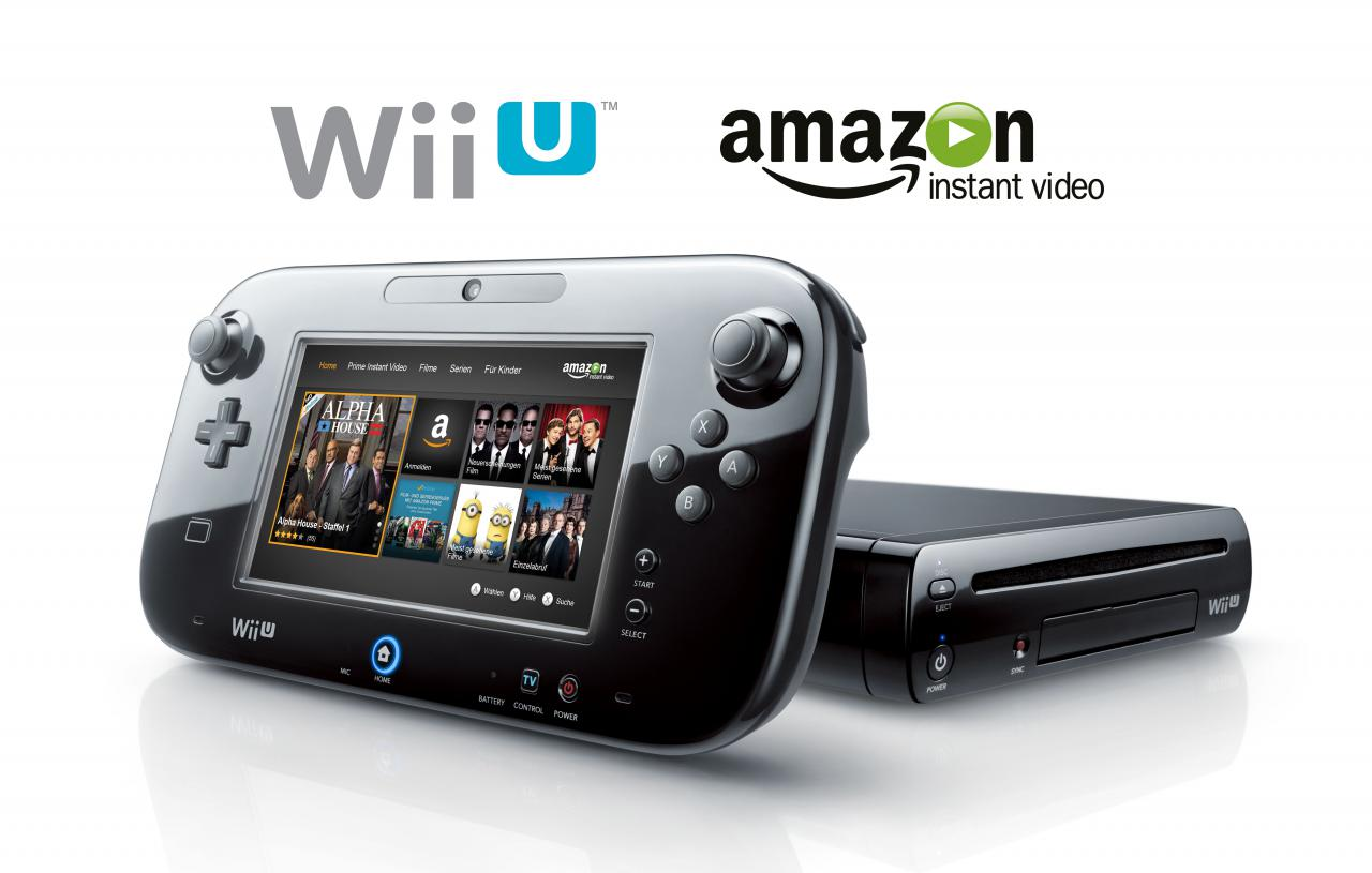 wii u amazon instant video app ab sofort verf gbar. Black Bedroom Furniture Sets. Home Design Ideas