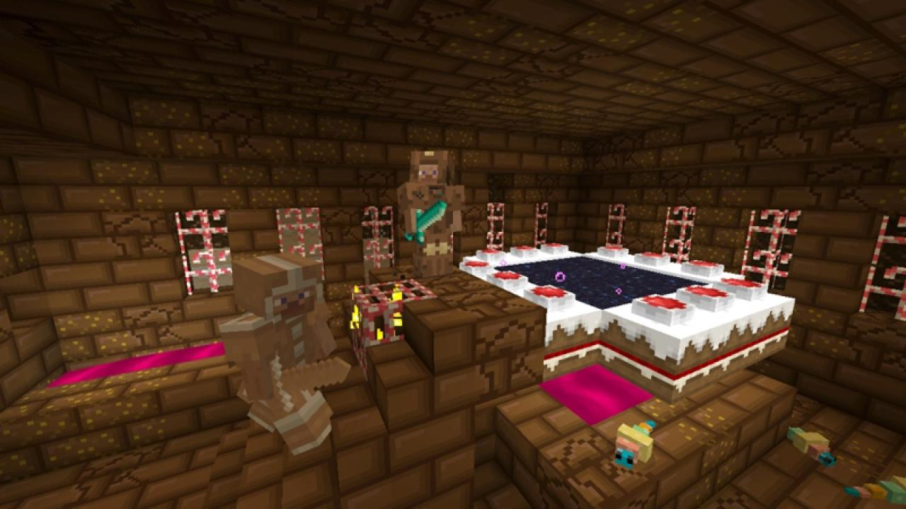 Minecraft candy texture pack 08 gamezone