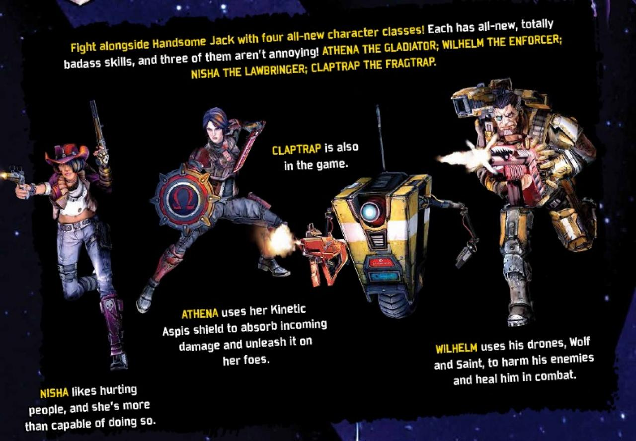 Borderlands the pre sequel characters download adobe