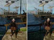 The Witcher 3: Video-Grafikvergleich PC - Minimale vs. Maximale Details der Review-Version
