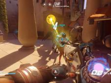 Overwatch: Tank Zarya im Gameplay-Preview