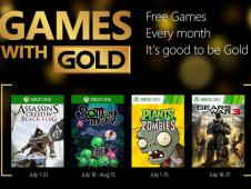 Games with Gold: Im Juli 2015 mit Assassin's Creed 4, Gears of War 3 und mehr