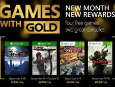 Games with Gold: Im September 2015 mit Tomb Raider Definitive Edition, Crysis 3 und mehr