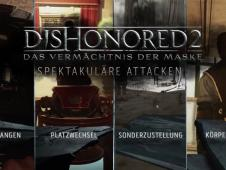 Dishonored 2: Spektakuläre Attacken im Gameplay-Trailer
