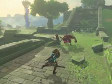 Zelda: Breath of the Wild - Links Kampf-Skills im Video