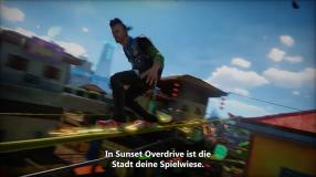 Sunset Overdrive: Behind-the-Scenes-Video gibt einen Überblick