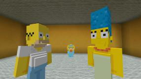 Minecraft: Das Simpsons-Skin-Pack im Video