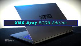 XMG A707 PCGH-Edition - Gaming-Notebook mit Geforce GTX 1050 Ti