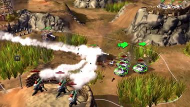 Victory Command: Petroglyphs Militär-MOBA im Early-Access-Trailer