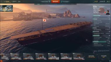 World of Warships: IJN Hosho - Video-Guide (buffed Shipyard Folge 35)