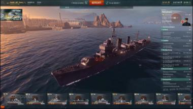 World of Warships: IJN Hatsuhara - Video-Guide (buffed Shipyard Folge 55)