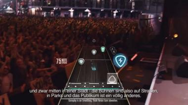 Guitar Hero Live: 'Behind the Scenes'-Trailer zur Gamescom