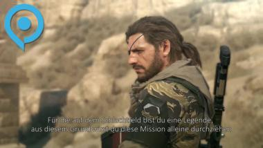 Metal Gear Solid 5: The Phantom Pain - Düsterer gamescom-Trailer