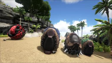 ARK: Survival Evolved - Steinharter Doedicurus im Video vorgestellt