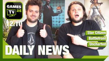 Video-Newsshow: Games TV 24 Daily vom 12.10.2015