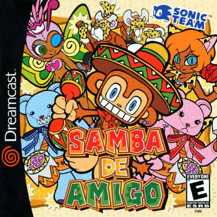 Samba de Amigo: It´s Party Time! - Leser-Test von YujiNaka