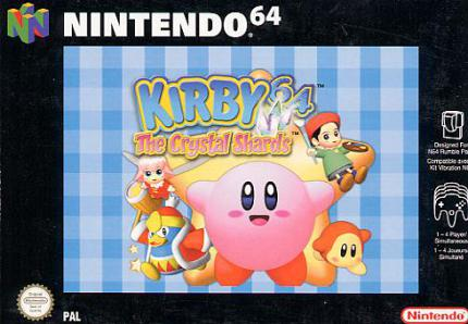 Kirby 64: The Crystal Shards - Kirby 64 - The Crystal Shards - Leser-Test von wolfpack666