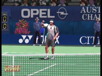 Virtua Tennis: Super Grafik, super Game - Leser-Test von ScreenBoy