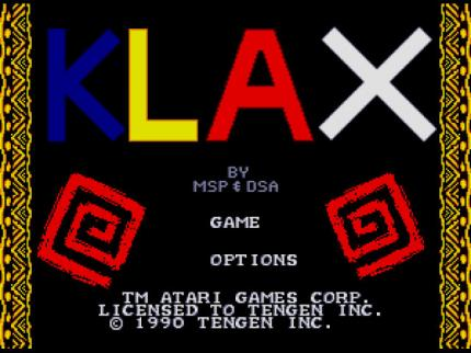 Klax: Klaxe on MD - Leser-Test von RAMS-es