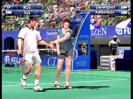 Virtua Tennis 2: Advantage Virtua Tennis - Leser-Test von buckshot