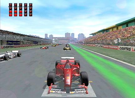 F1 Racing Championship: Lizenz-Recycling - Leser-Test von HALLofGAME