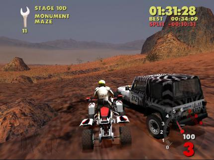 Paris-Dakar Rally im Gamezone-Test