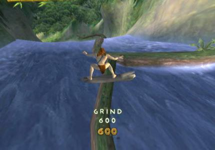 GameCube Screenshots zu Tarzan Freeride