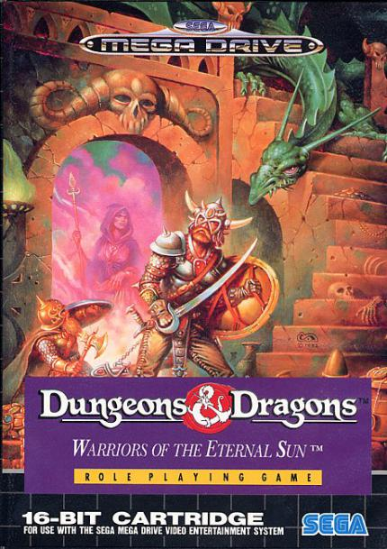 Dungeons & Dragons Warriors Of The Eternal Sun: Kultspiel - Leser-Test von sinfortuna