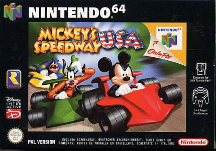Mickey's Speedway: Mickey Cruis´n USA - Leser-Test von Luigi