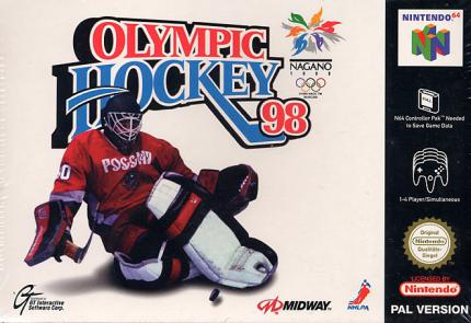 Olympic Hockey 98: Bodychecks in Nagano - Leser-Test von elisaelisa