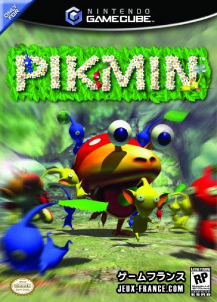 Pikmin - Packshot zur US-Version