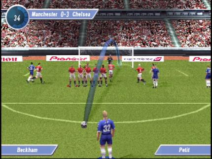 David Beckham Soccer im Gamezone-Test