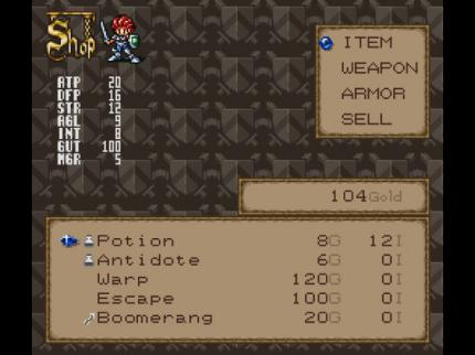 Lufia 2: Super RPG - Leser-Test von GameSpy