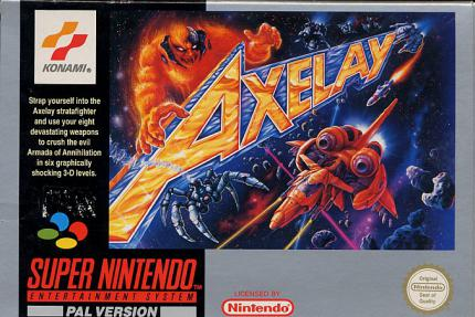 Axelay: The last Stand...D-117B Axelay Stratafighter - Leser-Test von Goreminister