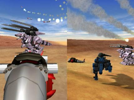 Zoids VS – Neue Screenshots