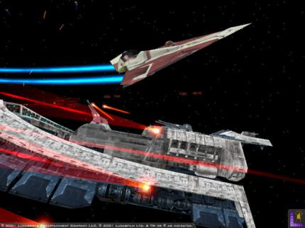 Star Wars Jedi Starfighter: Episode II spielen - Leser-Test von Tobsen KLees