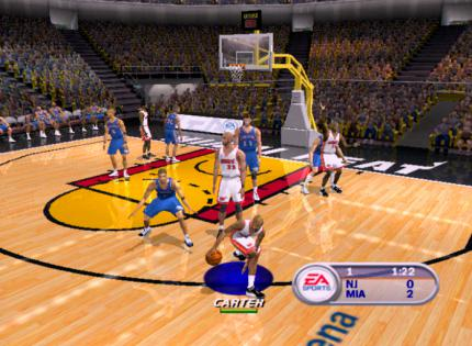 NBA Live 2002 im Gamezone-Test