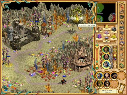 Heroes of Might & Magic IV – Neue Screenshots