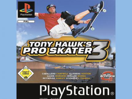 Tony Hawk's Pro Skater 3 im Gamezone-Test