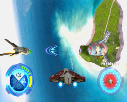 Star Wars Jedi Starfighter im Gamezone-Test