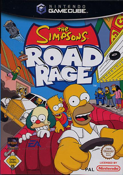 The Simpsons: Road Rage - The Simpson´s r back - Leser-Test von Luigi
