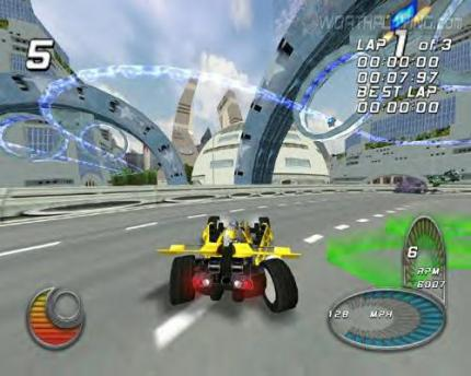 Drome Racers- Screenshots