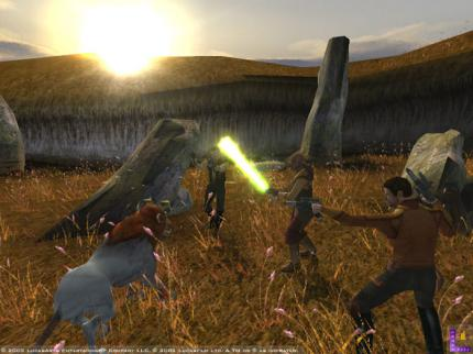 Knights Of The Old Republic Screenshots