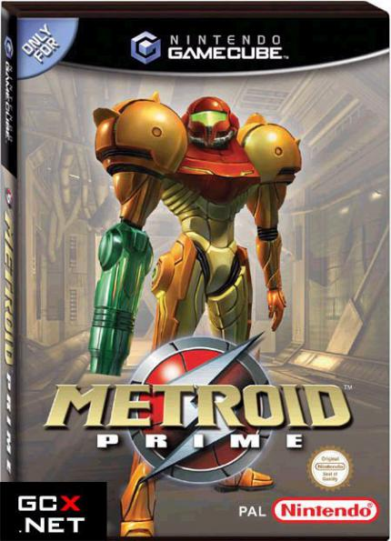 Metroid: PAL Packshot und Demo Disc in England