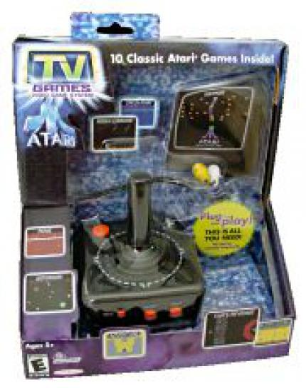 Atari TV Games Video Game System angekündigt