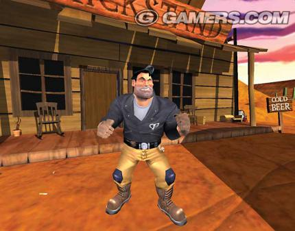 Erster Full Throttle 2 Screenshot